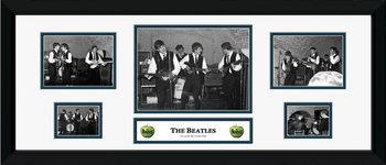 Beatles - carven Zarámovaný plagát