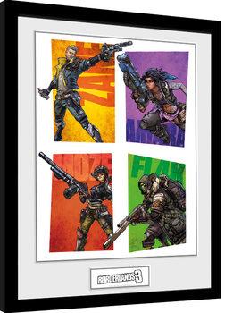 Borderlands 3 - Hunters zarámovaný plakát