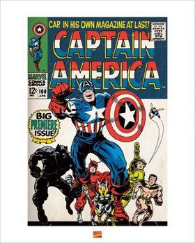 Obrazová reprodukce  Captain America