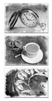 Obraz Černobílá abstrakce