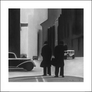 David Cowden - Waiting Obrazová reprodukcia