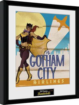 DC Comics - Batgirl Bombshells zarámovaný plakát