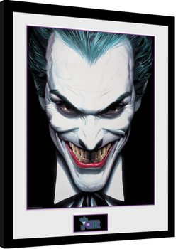 DC Comics - Joker Ross zarámovaný plakát