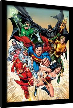 DC Comics - Justice League Heroic zarámovaný plakát