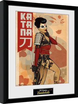 DC Comics - Katana Bombshells zarámovaný plakát