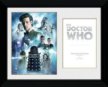 Doctor Who - 11th Doctor zarámovaný plakát