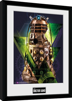 Doctor Who - Dalek zarámovaný plakát