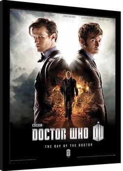 DOCTOR WHO - day of the doctor zarámovaný plakát