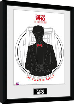 Doctor Who - Spacetime Tour 11th Doctor zarámovaný plakát