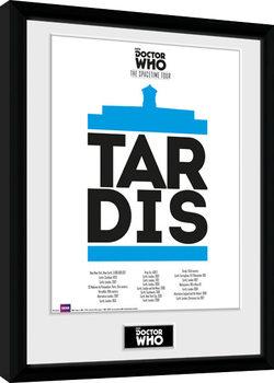 Doctor Who - Spacetime Tour Tardis zarámovaný plakát