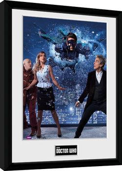 Doctor Who - Xmas Iconic 2016 zarámovaný plakát