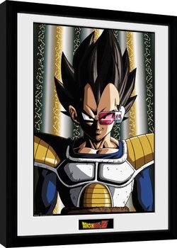 Dragon Ball Z - Vegeta zarámovaný plakát