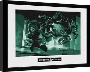 Dungeons & Dragons - Beholder zarámovaný plakát
