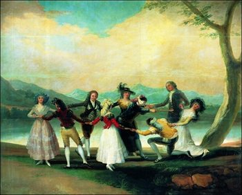 Obrazová reprodukce  F.De.Goya - Coline Maillard