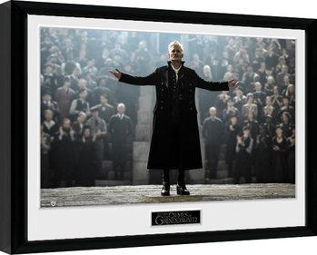 Fantastická zvířata: Grindelwaldovy zločiny - Gellert Grindlewald zarámovaný plakát