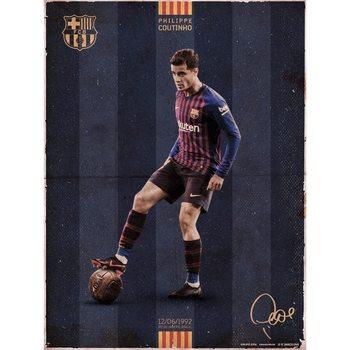 Obrazová reprodukce  FC Barcelona - Coutinho Vintage