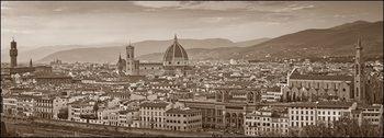 Obrazová reprodukce  firenze Panorama misure e supporti su RICHIESTA