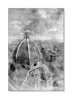 Obraz Florencie - katedrála Santa Maria del Fiore