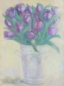 Obrazová reprodukce French Flower Buckets ll