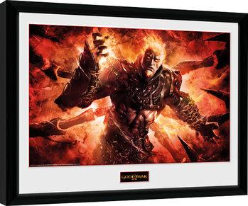 God of War - Ares zarámovaný plakát