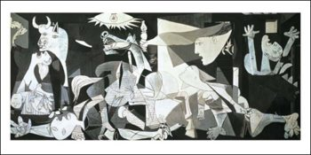 Obrazová reprodukce  Guernica