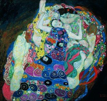 Gustav Klimt - Le Vergini Obrazová reprodukcia