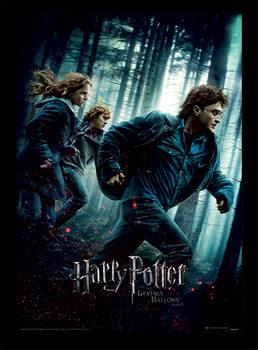 Harry Potter - Deathly Hallows Part 1 zarámovaný plakát
