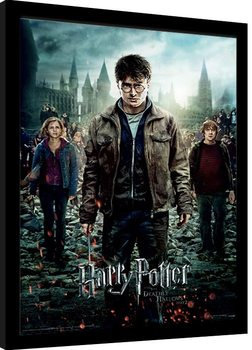 Harry Potter - Deathly Hallows Part 2 oprawiony plakat