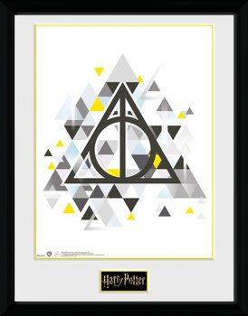 Harry Potter - Deathly Pixels zarámovaný plakát
