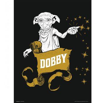 Obrazová reprodukce  Harry Potter - Dobby