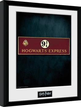 Harry Potter - Platform 9 3/4 zarámovaný plakát