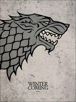 Obrazová reprodukce  Hra o Trůny - Game of Thrones - Stark