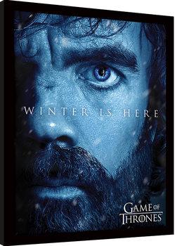 Hra o Trůny (Game of Thrones) - Targaryen zarámovaný plakát