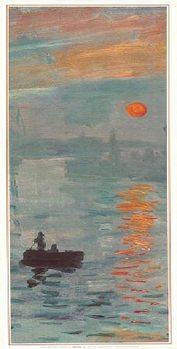 Obrazová reprodukce  Imprese, východ slunce - Impression, soleil levant, 1872 (část)