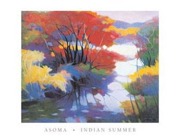 Obrazová reprodukce Indian Summer
