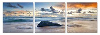 Obraz  Kámen obklopený mořem