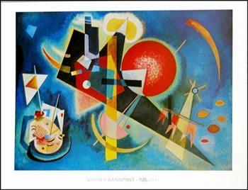 Kandinsky - Nel Blu Obrazová reprodukcia