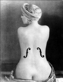 Obrazová reprodukce Le Violon d'Ingres - Ingres's Violin, 1924