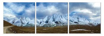 Obraz  Ledové pohoří