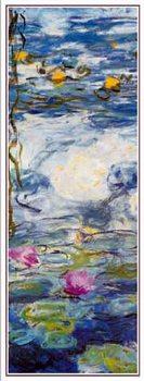 Obrazová reprodukce  Lekníny, 1916-1919 (část)