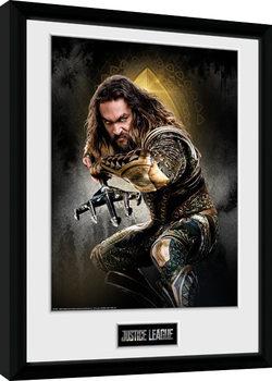 Liga spravedlivých - Aquaman Solo zarámovaný plakát