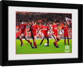 Liverpool - Legends zarámovaný plakát