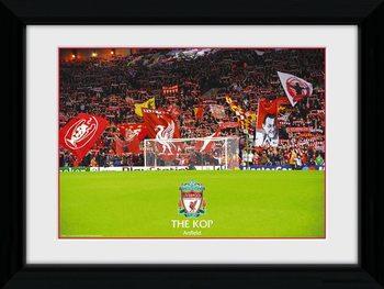 Liverpool - The Kop zarámovaný plakát