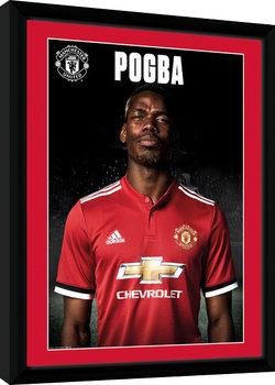 Manchester United - Pogba Stand 17/18 zarámovaný plakát