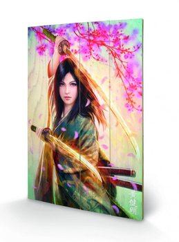 Obraz na drewnie Mario Wibisono - Kei