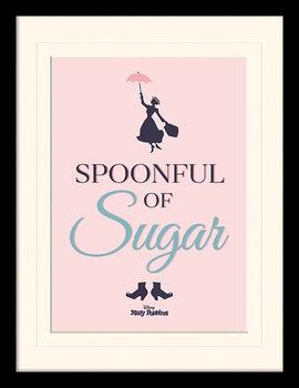 Mary Poppins Se Vrací - Spoonful of Sugar zarámovaný plakát