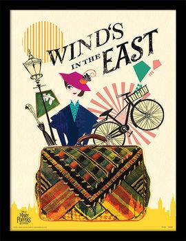 Mary Poppins Se Vrací - Wind in the East zarámovaný plakát