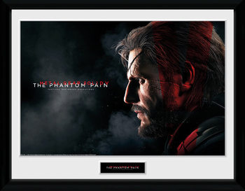 Metal Gear Solid V - Snake zarámovaný plakát
