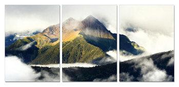 Obraz Mlžná hora
