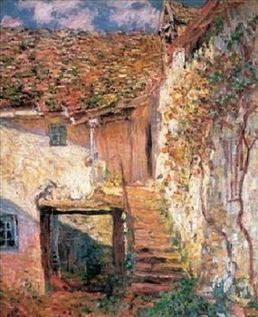 Obrazová reprodukce  Monet -Schody, 1878